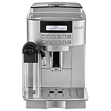 Buy De'Longhi Magnifica ECAM22.360.S Bean-to-Cup Coffee Machine, Silver Online at johnlewis.com