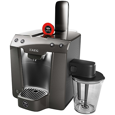 Buy Lavazza A Modo Mio Favola & Milk Coffee Machine by AEG Online at johnlewis.com