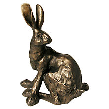 Buy Frith Sculpture Humphrey Hare Sitting, by Paul Jenkins Online at johnlewis.com