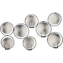 Buy John Lewis Wall Votive Holder, Nickel Online at johnlewis.com
