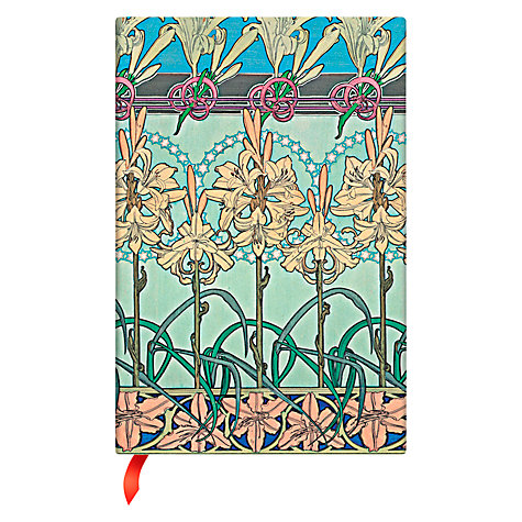 Buy Paperblanks Tiger Lily Journal, Mini Online at johnlewis.com