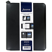 Buy Filofax Pennybridge A5 Organiser and iPad Case, Black Online at johnlewis.com