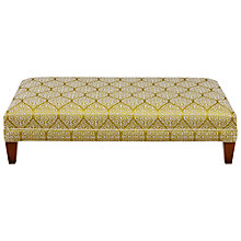 Buy John Lewis Eden Footstool, Zari Citrus Online at johnlewis.com