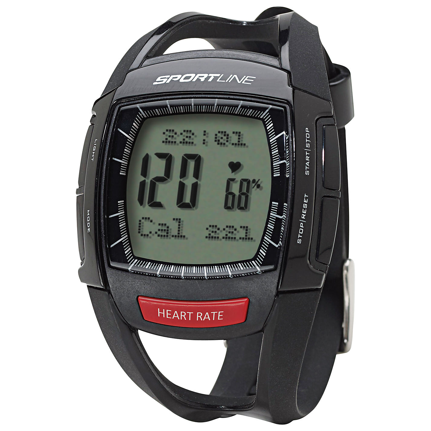 Sportline 660 Men's Cardio Heart Rate Watch Instruction Manual