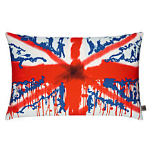 Buy Timorous Beasties for John Lewis Union Jack Toile Cushion, Multi Online at johnlewis.com