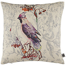 Buy Timorous Beasties for John Lewis Waxwing Bird Cushion, Multi Online at johnlewis.com