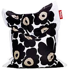 Buy Fatboy Bean Bag, Marimekko, Black Online at johnlewis.com