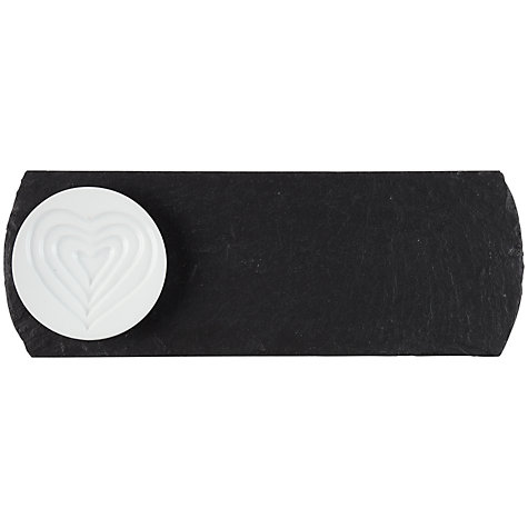 Buy Just Slate Ceramic Dip Dish on Slate Tray Online at johnlewis.com