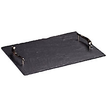 Buy Just Slate Medium Tray Online at johnlewis.com