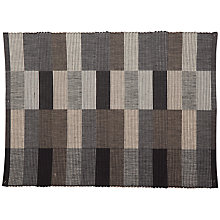 Buy John Lewis Multicheck Placemats, Set of 2, Grey Online at johnlewis.com