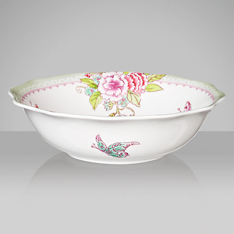 Buy Sanderson for Portmeirion Porcelain Garden Cereal Bowl, Dia.17.5cm Online at johnlewis.com