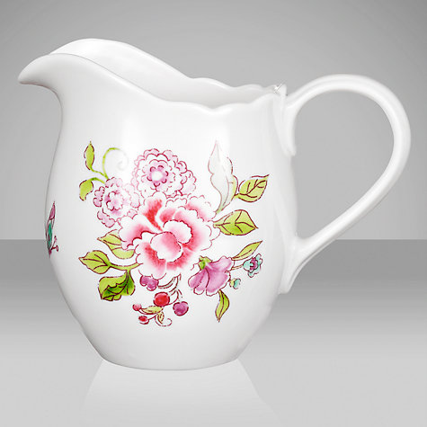Buy Sanderson for Portmeirion Porcelain Garden Cream Jug Online at johnlewis.com