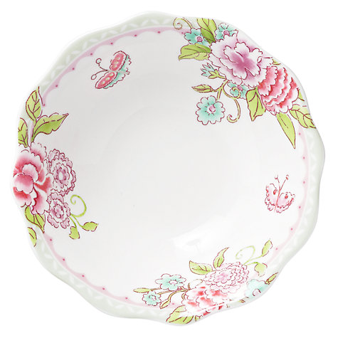 Buy Sanderson for Portmeirion Porcelain Garden Dessert Bowl Online at johnlewis.com
