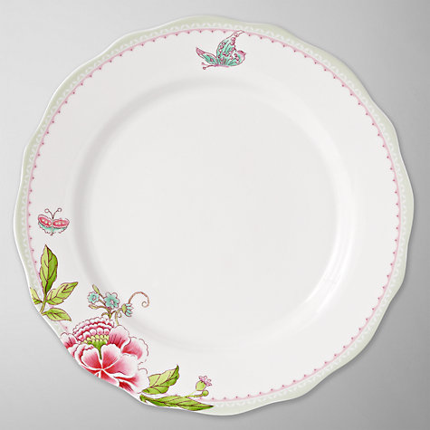 Buy Sanderson for Portmeirion Porcelain Garden Dinner Plate, 27.5cm Online at johnlewis.com