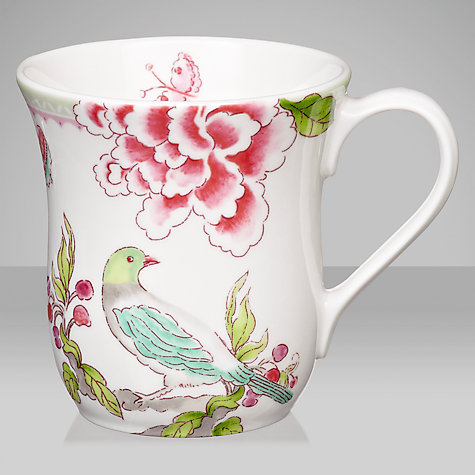 Buy Sanderson for Portmeirion Porcelain Garden Mug Online at johnlewis.com