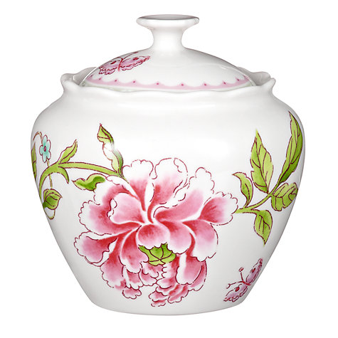 Buy Sanderson for Portmeirion Porcelain Garden Sugar Bowl Online at johnlewis.com