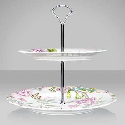 Sanderson for Portmeirion Porcelain Garden Cake Stand