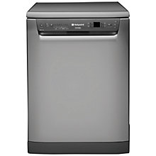 Buy Hotpoint FDFF1110G Dishwasher, Graphite Online at johnlewis.com
