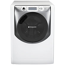 Buy Hotpoint AQD1170F697E Washer Dryer, 11kg Wash/7kg Dry Load, A Energy Rating, 1600rpm Spin, White Online at johnlewis.com