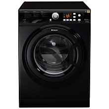 Buy Hotpoint Futura WMFG8537K Washing Machine, 8kg Load, A+++ Energy Rating, 1500rpm Spin Speed, Black Online at johnlewis.com