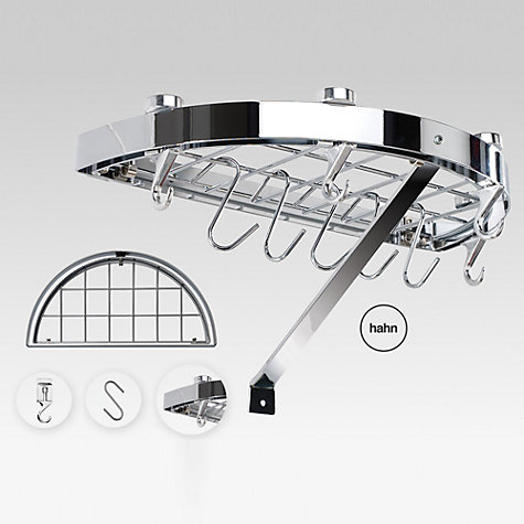 Buy Hahn Premium Semi Circle Wall Rack Online at johnlewis.com