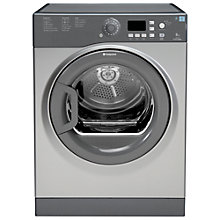 Buy Hotpoint TVFG85C6G Vented Tumble Dryer, 8kg Load, C Energy Rating, Graphite Online at johnlewis.com