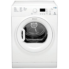 Buy Hotpoint TVFG85C6P Vented Tumble Dryer, 8kg Load, C Energy Rating, White Online at johnlewis.com
