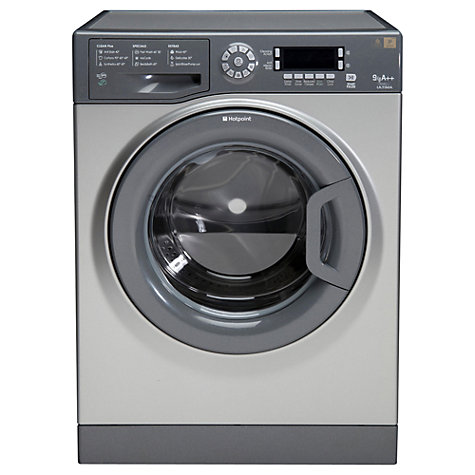 Buy Hotpoint Futura WMUD942G Washing Machine, 9kg Load, A++ Energy Rating, 1400rpm Spin, Graphite Online at johnlewis.com