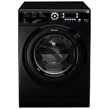 Buy Hotpoint Futura WMUD942K Washing Machine, 9kg Load, A++ Energy Rating, 1400rpm Spin, Black Online at johnlewis.com