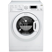Buy Hotpoint Futura WMUD942P Washing Machine, 9kg Load, A++ Energy Rating, 1400rpm Spin, White Online at johnlewis.com