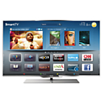 Philips 55PFL7007T/12 LED HD 1080p 3D Smart TV, 55 Inch with Freeview HD & 1x 3D Glasses