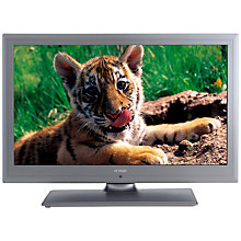 "Buy Linsar 26LED906T LED HD Ready TV/DVD Combi, 26"" with Freeview, Titanium Online at johnlewis.com"