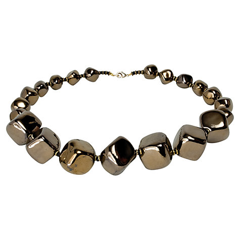 Buy Kazuri 7 Cube Ceramic Bead Necklace Online at johnlewis.com