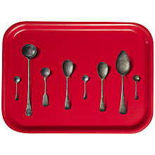 Buy Åry Trays Michael Angove Spoons, Red Online at johnlewis.com