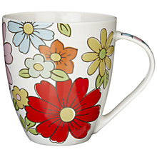Buy Cath Kidston Petal Print Mug Online at johnlewis.com