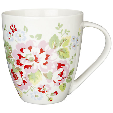 Buy Cath Kidston Spray Flowers Mug Online at johnlewis.com