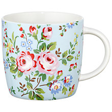 Buy Cath Kidston Chelsea Rose Mug in a Tin Online at johnlewis.com