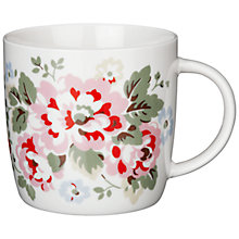 Buy Cath Kidston Spray Flowers Mug in a Tin Online at johnlewis.com