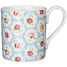 Buy Cath Kidston Provence Rose Larch Mug Online at johnlewis.com