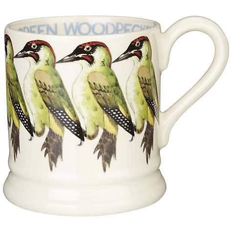 Buy Emma Bridgewater Green Woodpecker Mug Online at johnlewis.com