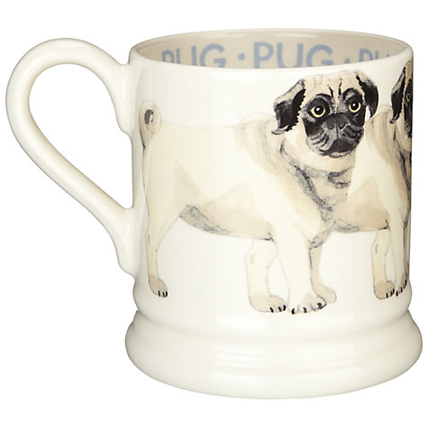 Buy Emma Bridgewater Pug Mug Online at johnlewis.com
