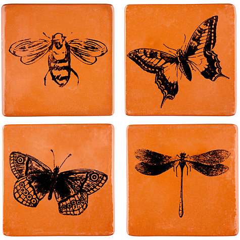 Buy John Lewis Insect Coasters, Set of 4 Online at johnlewis.com