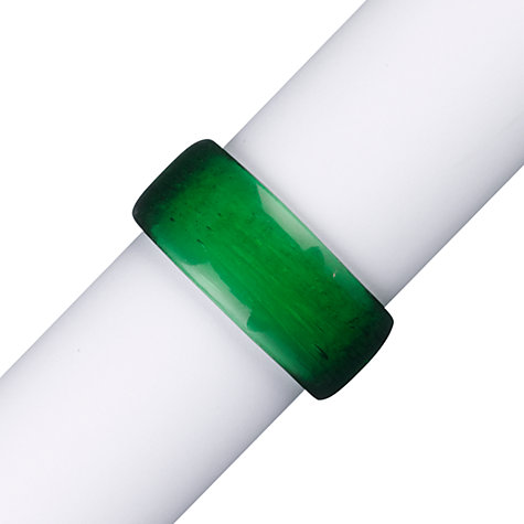 Buy John Lewis Glass Napkin Rings, Set of 4 Online at johnlewis.com