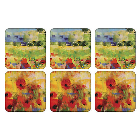 Buy Pimpernel Impressionist Coasters, Set of 6 Online at johnlewis.com