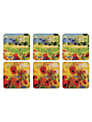 Pimpernel Impressionist Coasters, Set of 6