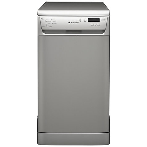 Buy Hotpoint SDD910X Slimline Dishwasher, Stainless Steel Online at johnlewis.com