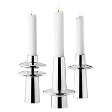 Buy Georg Jensen Ellipse Candleholder Set Online at johnlewis.com