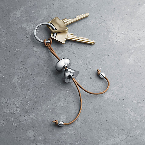 Buy Georg Jensen Alfredo Key Ring Girl, Multi Online at johnlewis.com