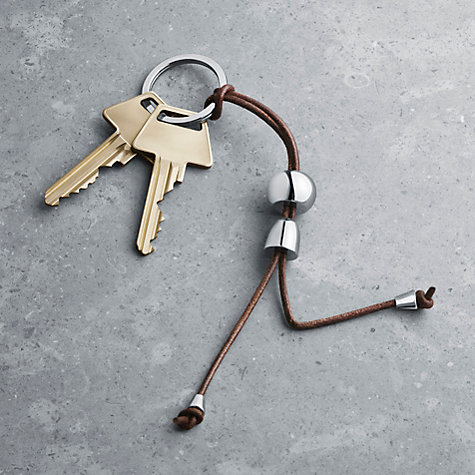 Buy Georg Jensen Alfredo Key Ring, Boy Online at johnlewis.com