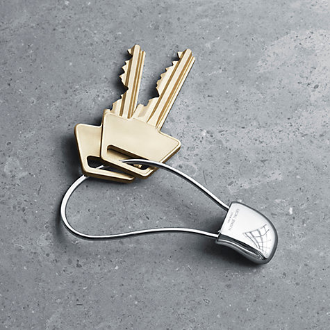 Buy Georg Jensen Helena Rohner Keyring Online at johnlewis.com